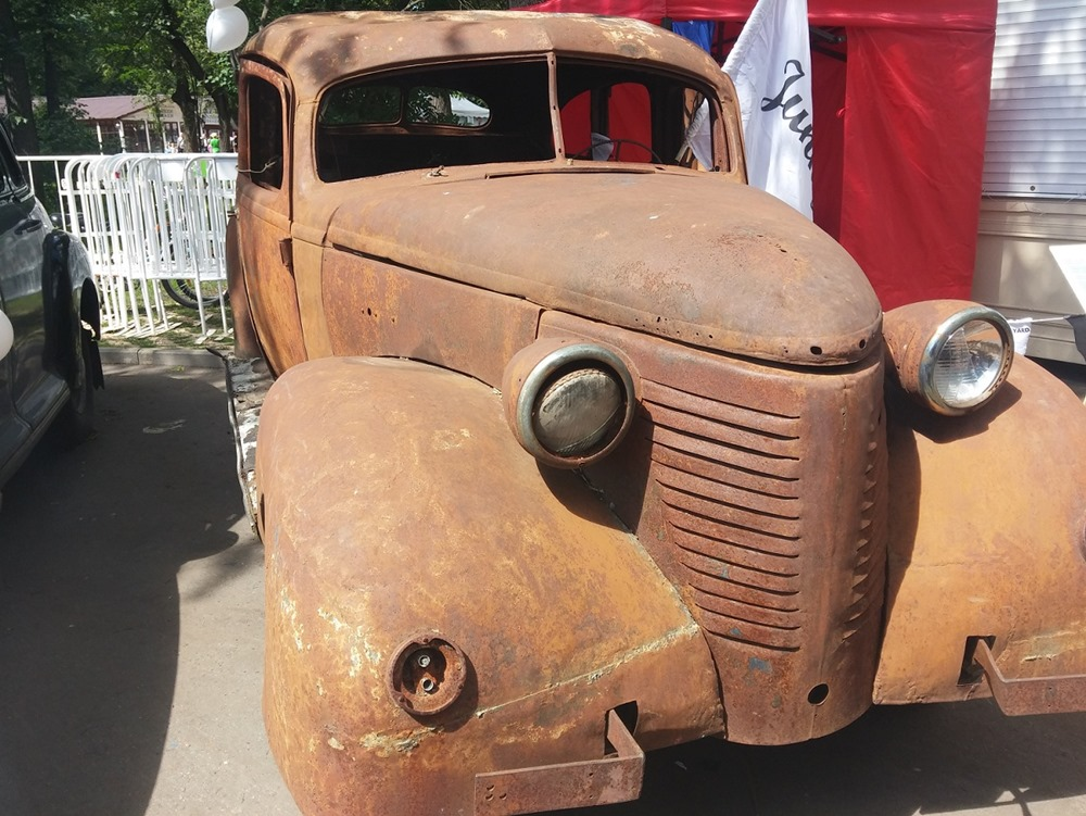 Retro Fest: 3rd festival of retro cars and antiques in Sokolniki Park - 41