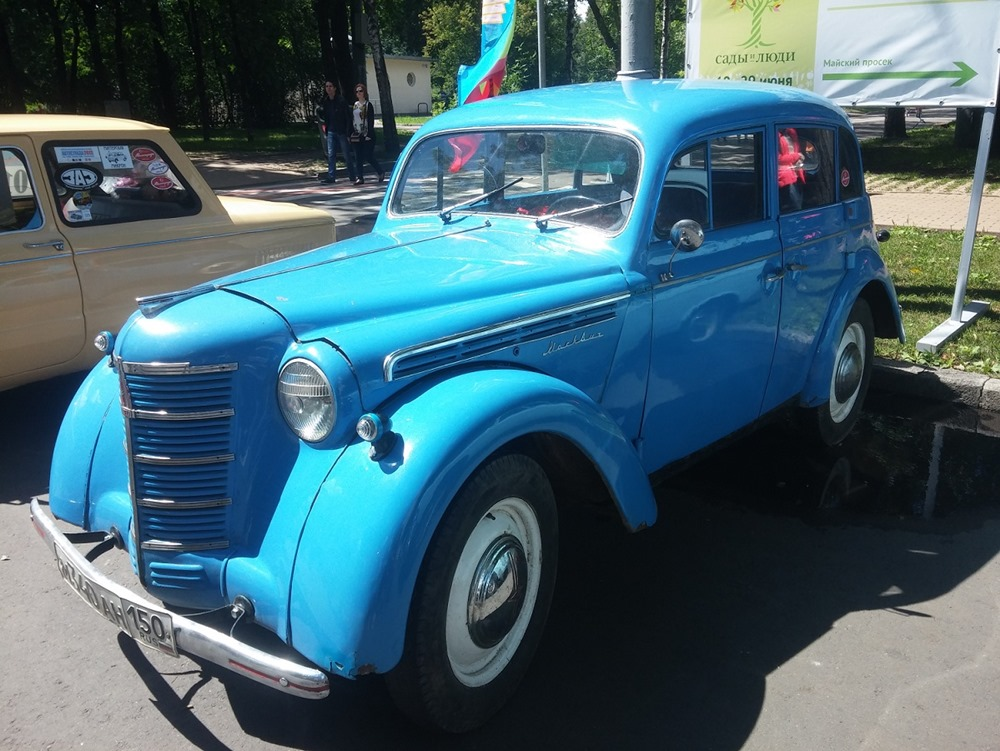 Retro Fest: 3rd festival of retro cars and antiques in Sokolniki Park - 44