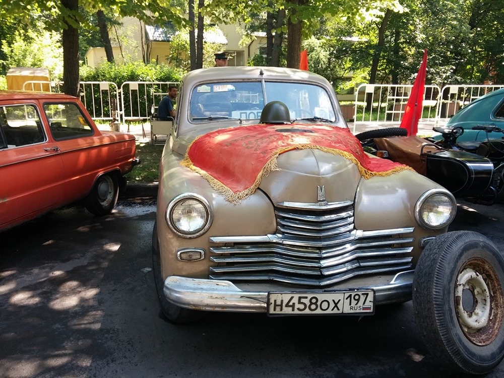 Retro Fest: 3rd festival of retro cars and antiques in Sokolniki Park - 45