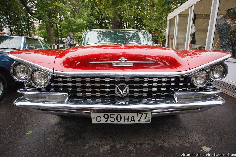 Retro Fest: 3rd festival of retro cars and antiques in Sokolniki Park - 06