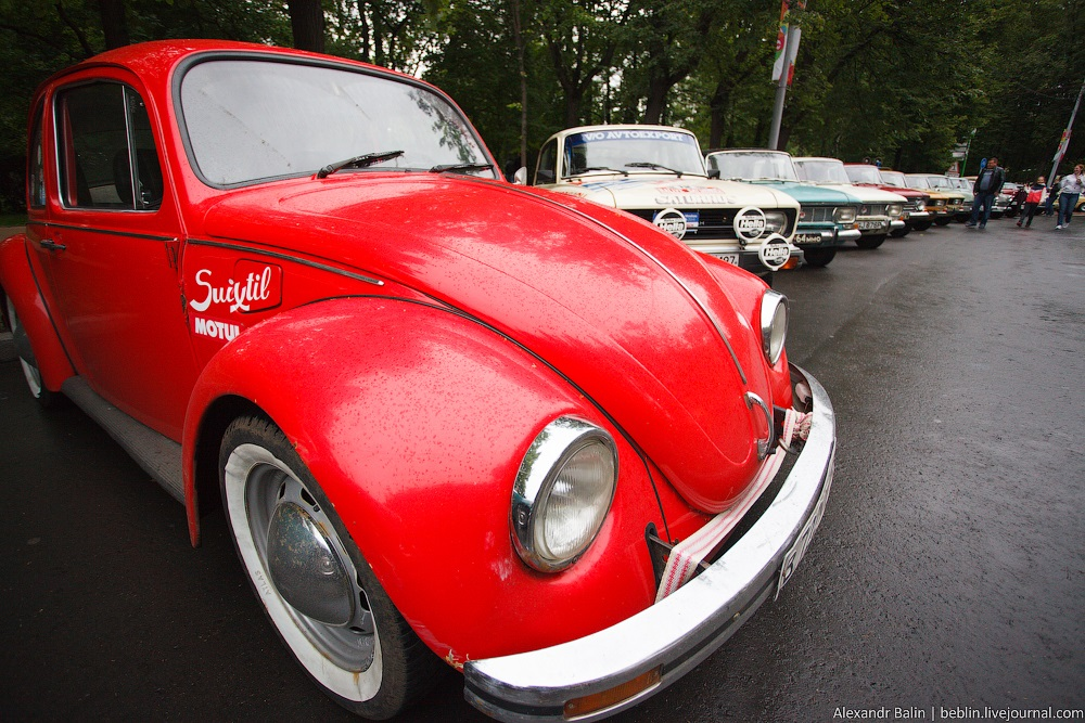 Retro Fest: 3rd festival of retro cars and antiques in Sokolniki Park - 07