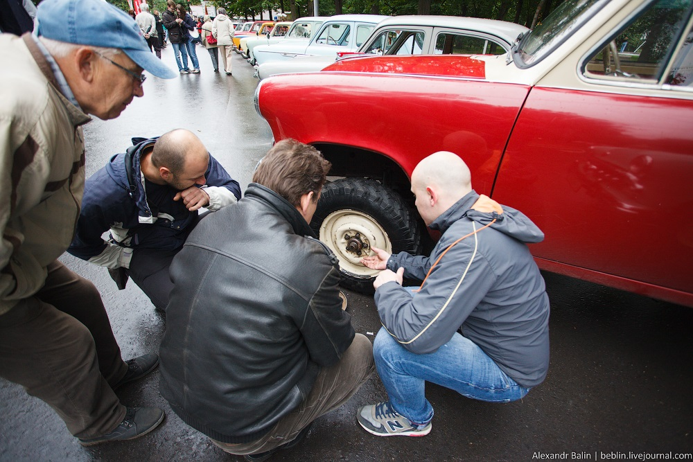 Retro Fest: 3rd festival of retro cars and antiques in Sokolniki Park - 09