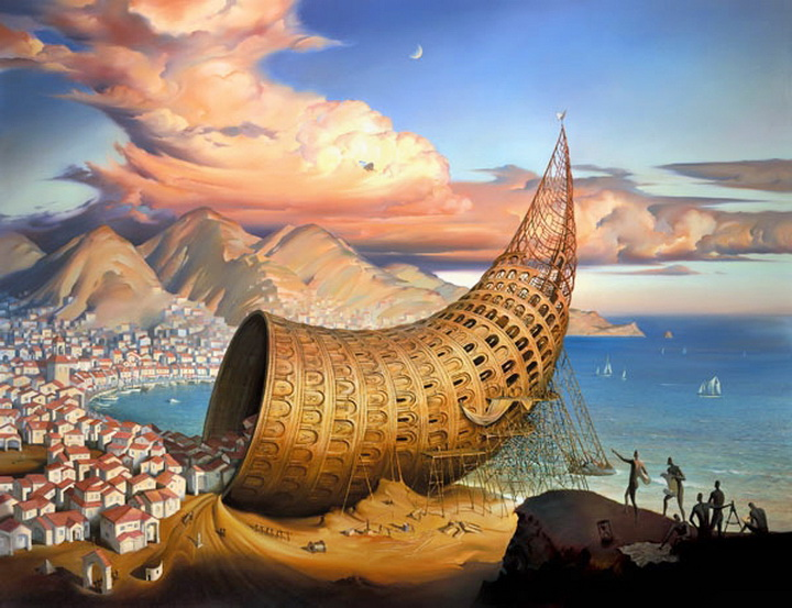 Russian Salvador Dali: Surrealistic paintings by Vladimir Kush - 56