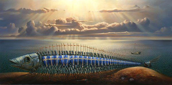 Russian Salvador Dali: Surrealistic paintings by Vladimir Kush - 61