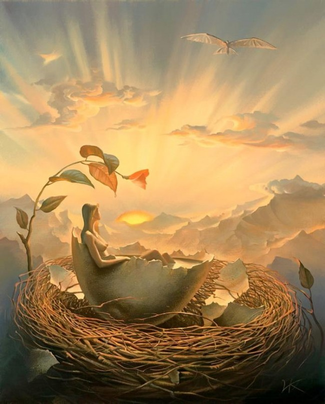 Russian Salvador Dali: Surrealistic paintings by Vladimir Kush - 65