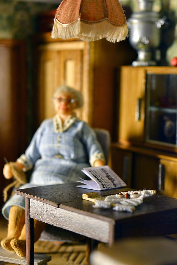 Soviet Russia in miniature: A model of a grandma's flat from 1970s - 02