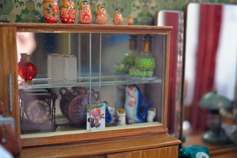 Soviet Russia in miniature: A model of a grandma's flat from 1970s - 28