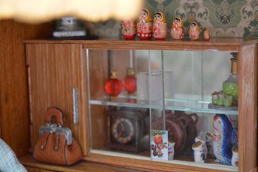 Soviet Russia in miniature: A model of a grandma's flat from 1970s - 30