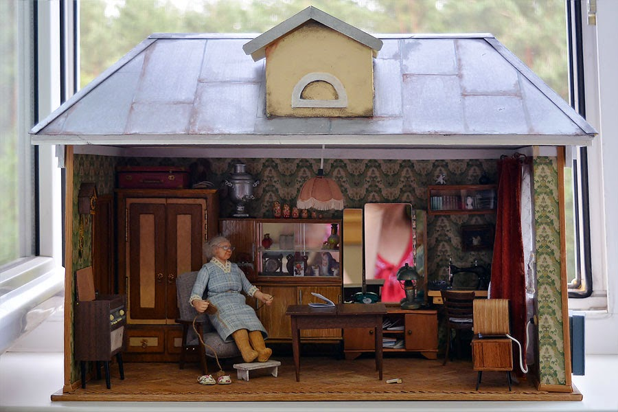 Soviet Russia in miniature: A model of a grandma's flat from 1970s - 36