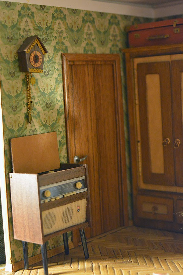 Soviet Russia in miniature: A model of a grandma's flat from 1970s - 09