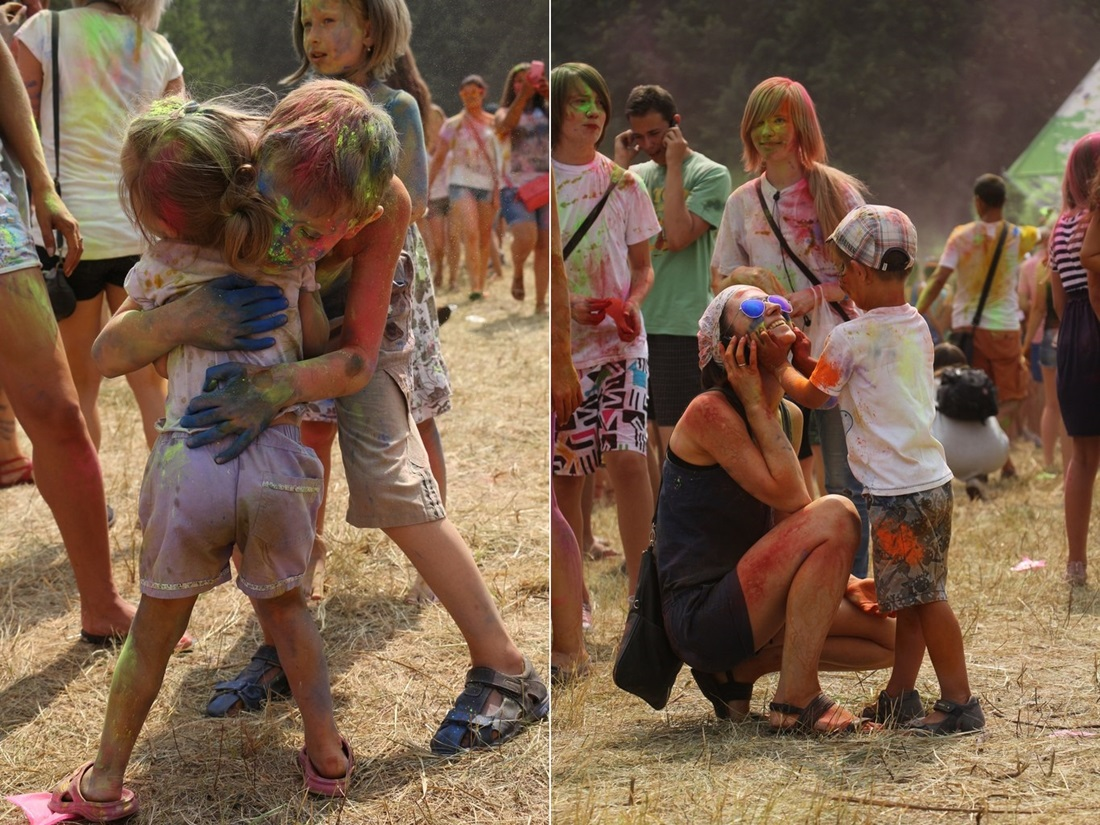 Bright summer: The festival of colours Holi in the capital of Ukraine - 46