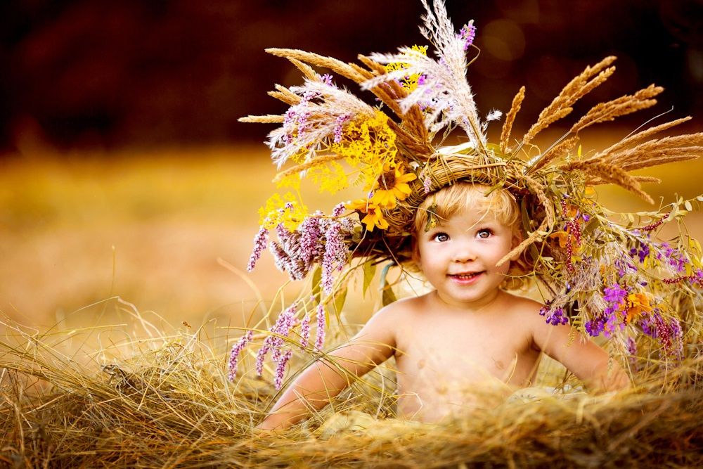 Children's happiness: Photos of lovely kids by Svetlana Kvashina - 34