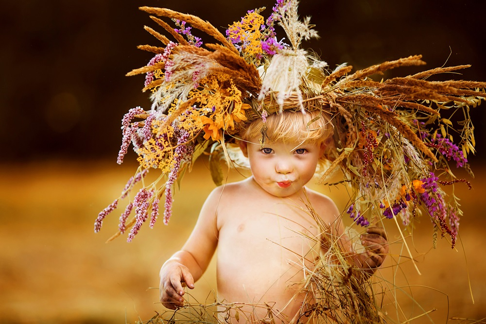 Children's happiness: Photos of lovely kids by Svetlana Kvashina - 35