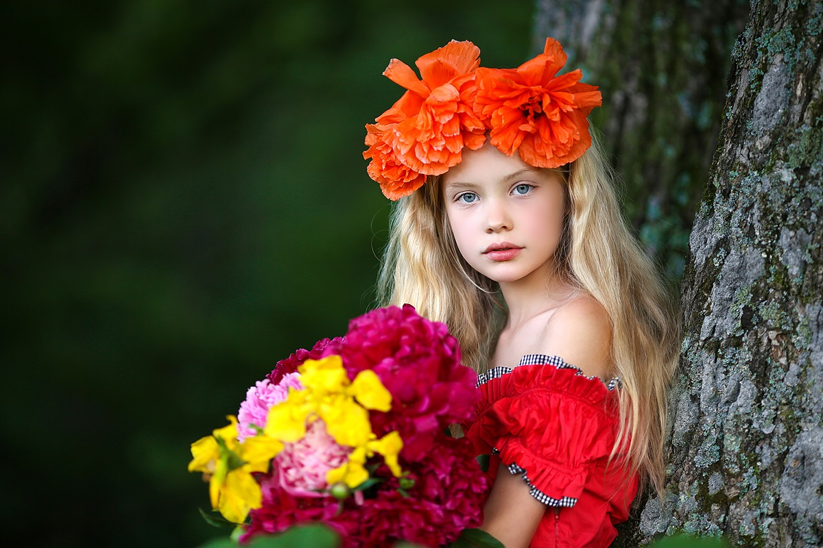 Children's happiness: Photos of lovely kids by Svetlana Kvashina - 45