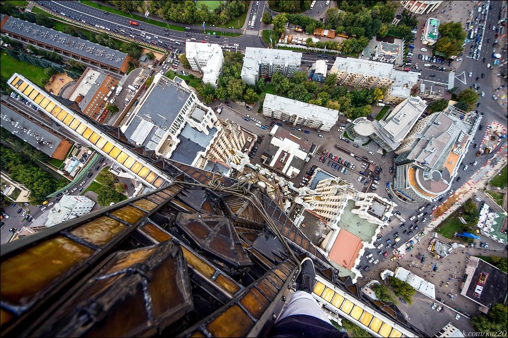 Extreme height: Crazy cityscapes by a thrill-seeker Ivan Kuznetsov - 11