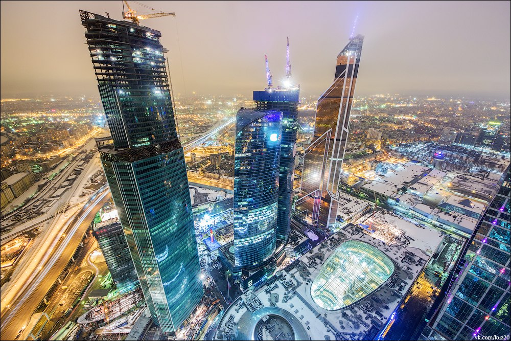 Extreme height: Crazy cityscapes by a thrill-seeker Ivan Kuznetsov - 22