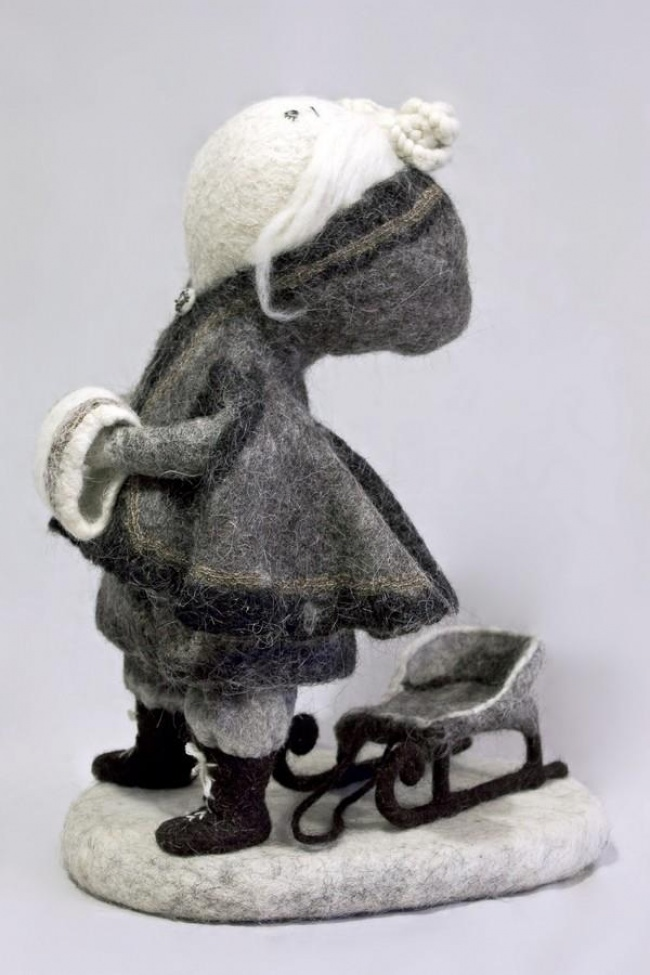 Soulful art: Magnificent hand-made felt dolls by Irina Andreyeva - 25