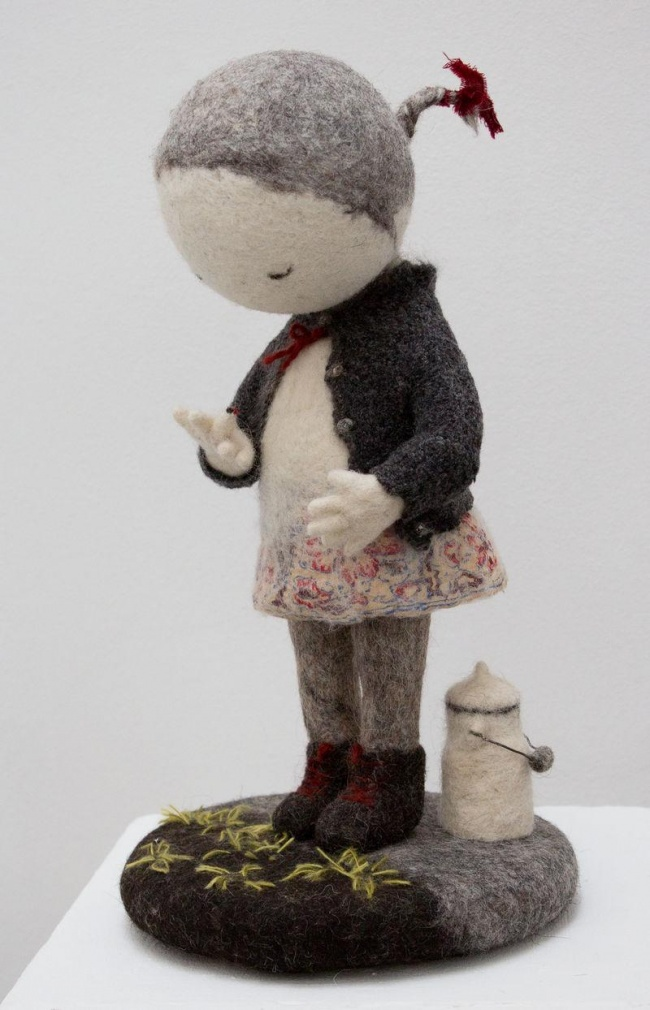 Soulful art: Magnificent hand-made felt dolls by Irina Andreyeva - 28