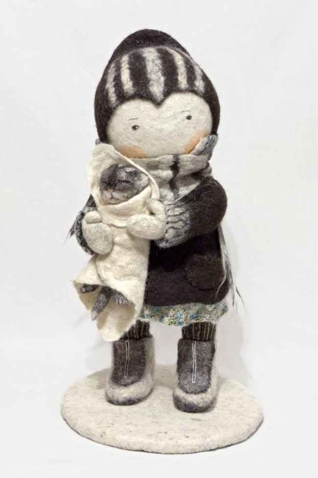 Soulful art: Magnificent hand-made felt dolls by Irina Andreyeva - 29