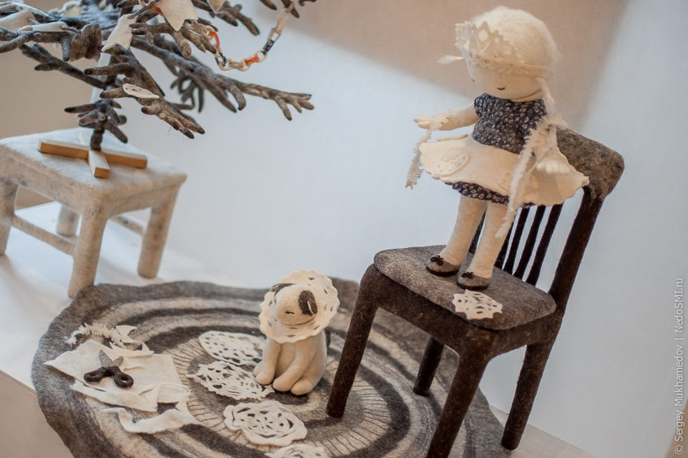 Soulful art: Magnificent hand-made felt dolls by Irina Andreyeva - 08