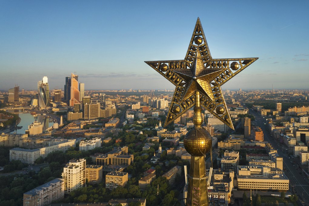 Stalin skyscrapers in Moscow: Photos of stars of the Seven Sisters - 01