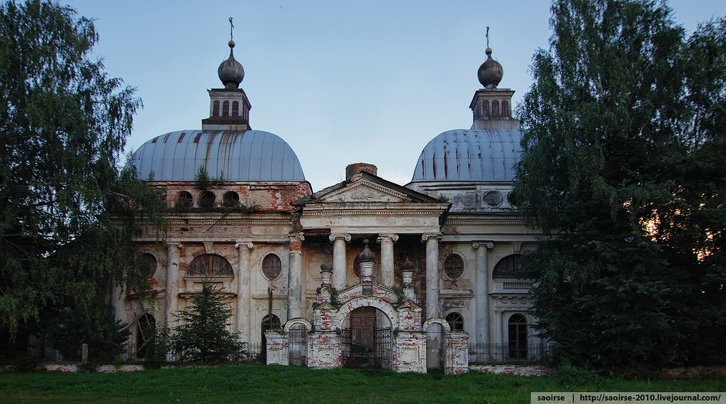 Unhappy temple: Ruins of Our Lady of Kazan Orthodox Cathedral - 01