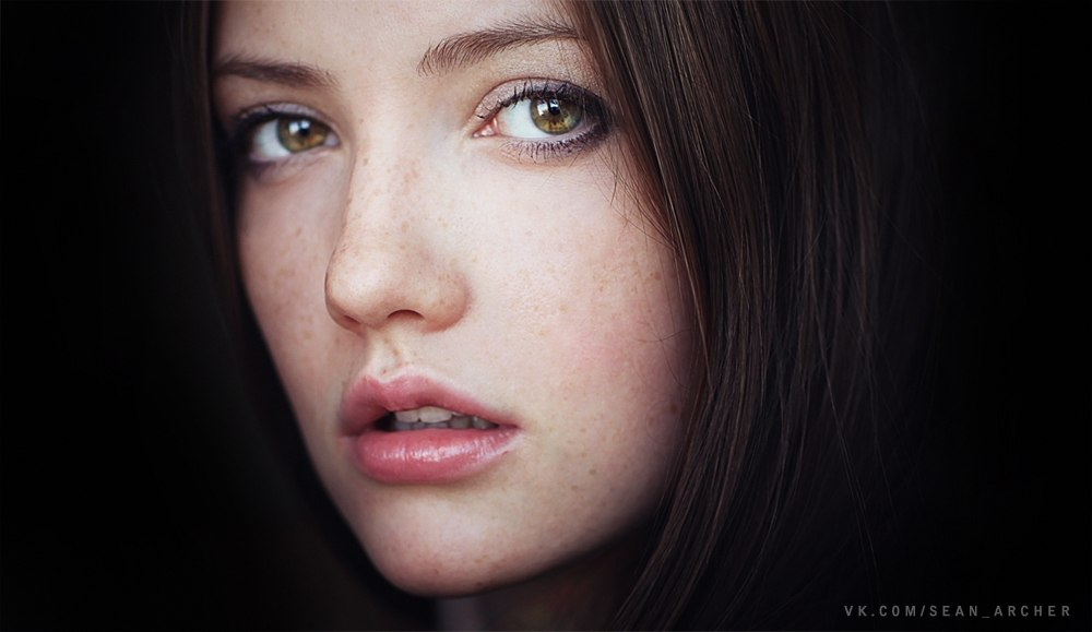 Catchy gaze: Expressive portraits of girls by Stanislav Puchkovsky - 11
