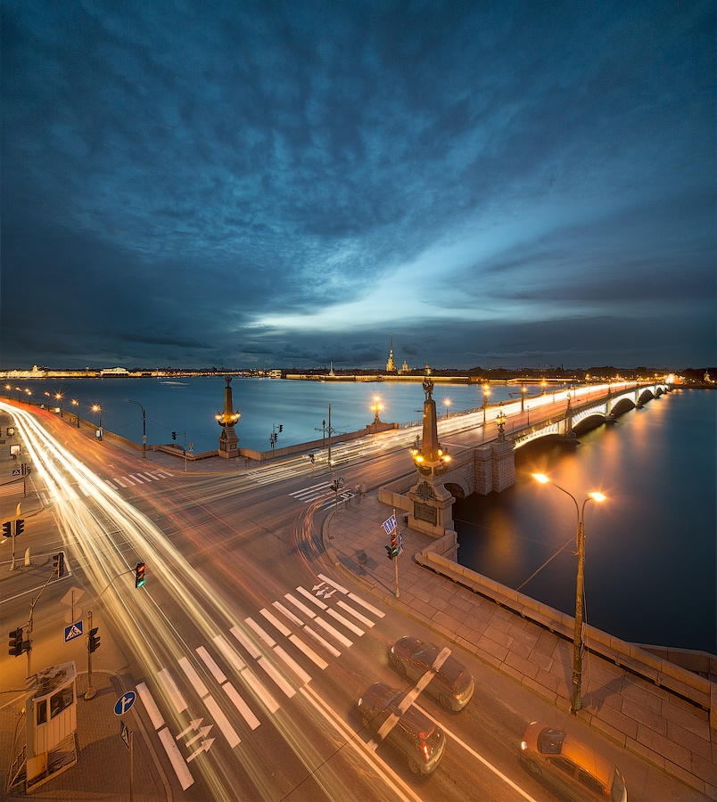 Night Saint Petersburg: Amazing photos of the city by Sergey Louks - 25