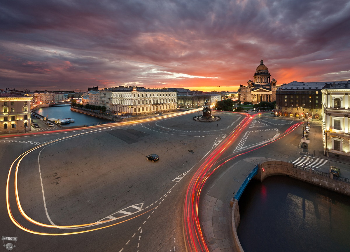 Night Saint Petersburg: Amazing photos of the city by Sergey Louks - 27