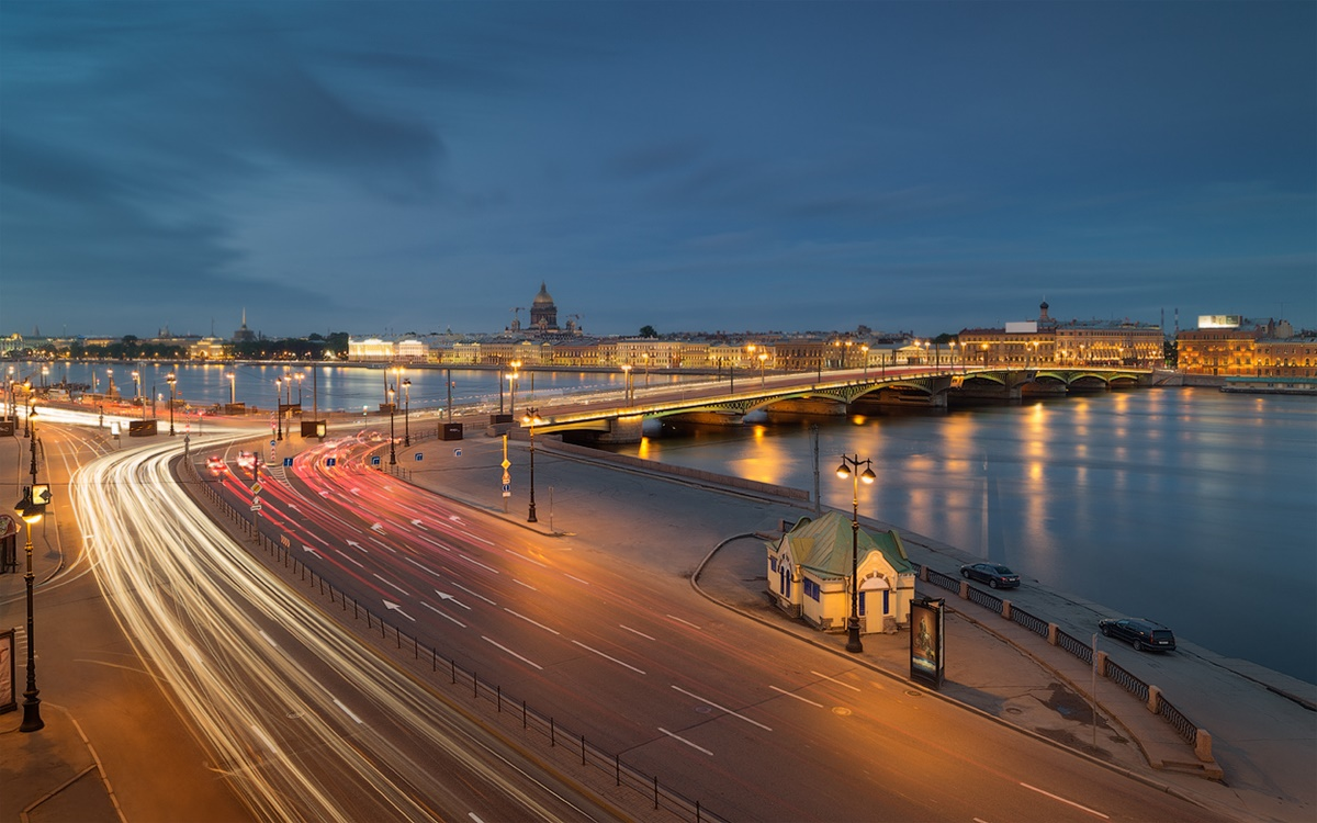 Night Saint Petersburg: Amazing photos of the city by Sergey Louks - 29