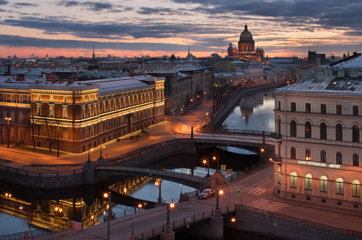 Night Saint Petersburg: Amazing photos of the city by Sergey Louks - 38