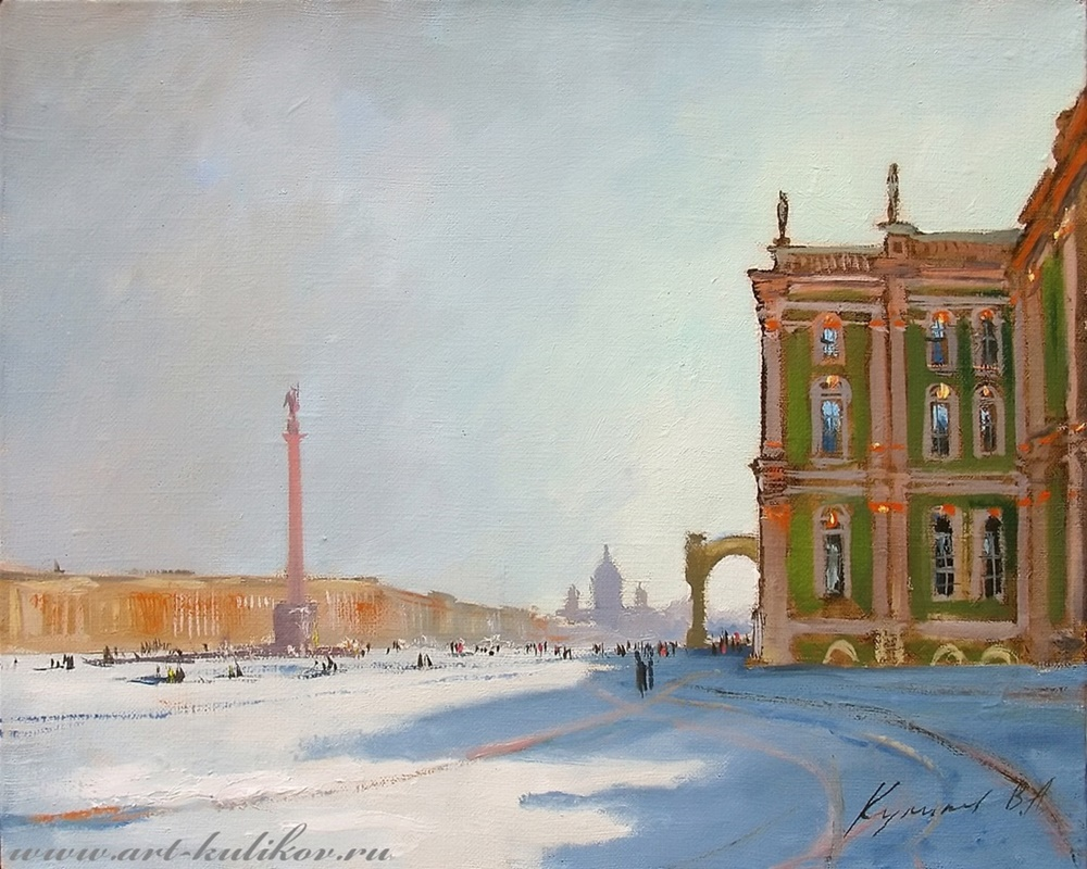 Pictures of glorious Saint-Petersburg by an artist Vladimir Kulikov - 05