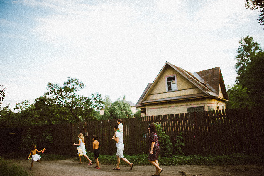 Playful childhood in a village: Warm memories by Ivan Troyanovsky - 15
