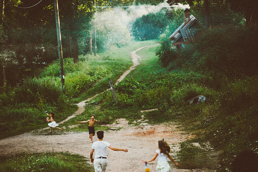 Playful childhood in a village: Warm memories by Ivan Troyanovsky - 16