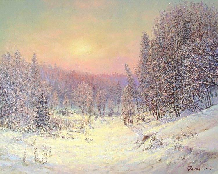 Russian expanses: Beauteous painting by the artist Sergey Panin - 15