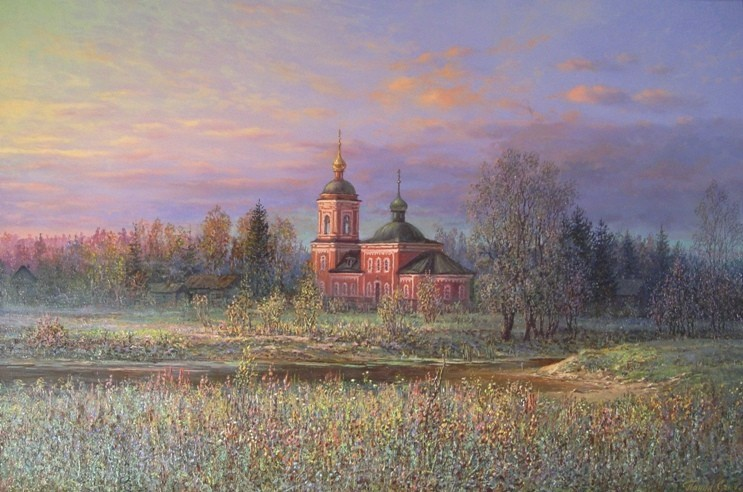 Russian expanses: Beauteous painting by the artist Sergey Panin - 19