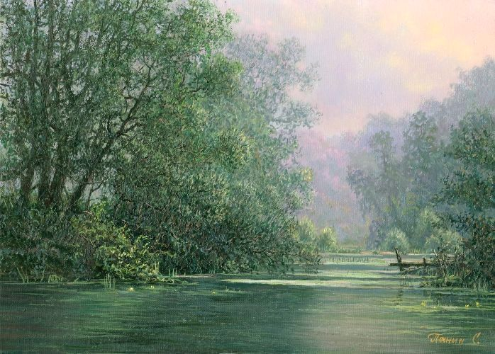 Russian expanses: Beauteous painting by the artist Sergey Panin - 26
