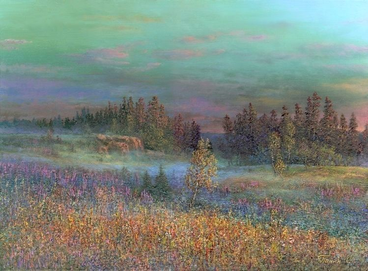 Russian expanses: Beauteous painting by the artist Sergey Panin - 27