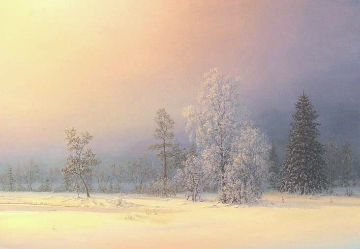 Russian expanses: Beauteous painting by the artist Sergey Panin - 29