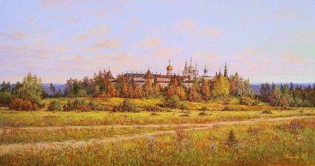 Russian expanses: Beauteous painting by the artist Sergey Panin - 03
