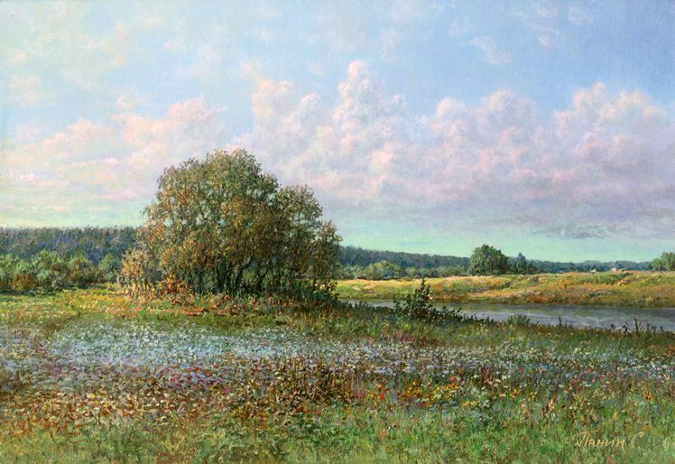 Russian expanses: Beauteous painting by the artist Sergey Panin - 33