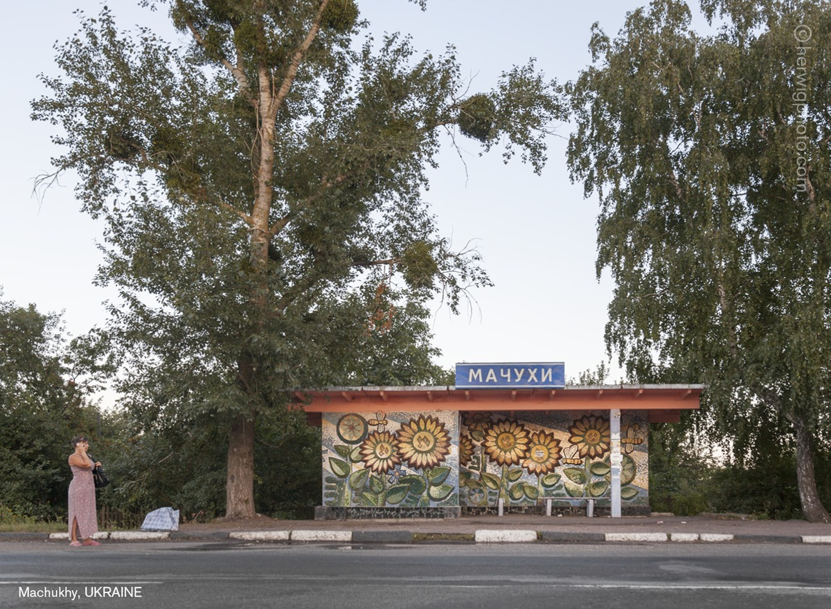 The USSR legacy: Photos of Soviet bus stops by Christopher Herwig - 14