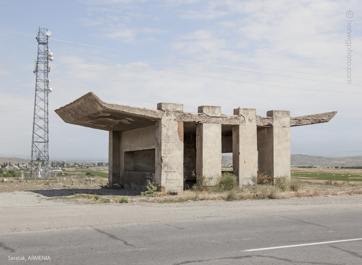 The USSR legacy: Photos of Soviet bus stops by Christopher Herwig - 25