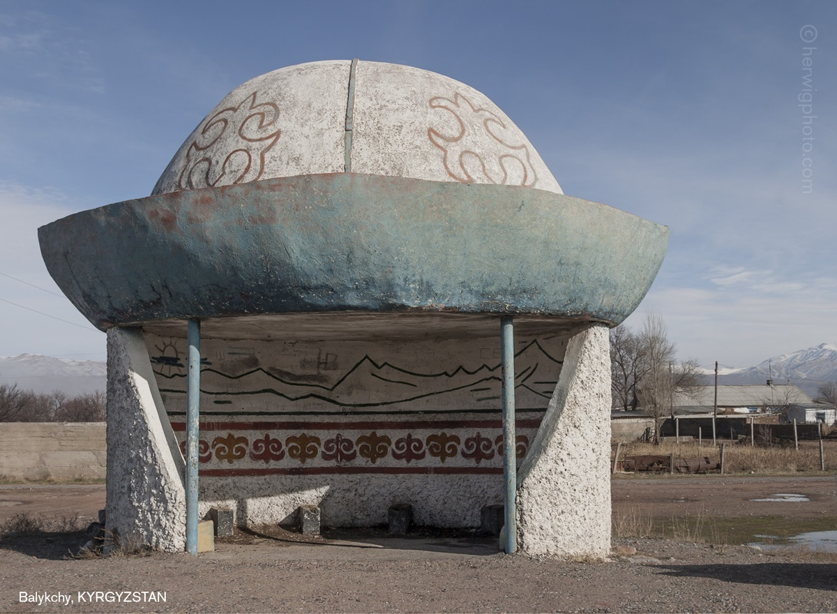 The USSR legacy: Photos of Soviet bus stops by Christopher Herwig - 06