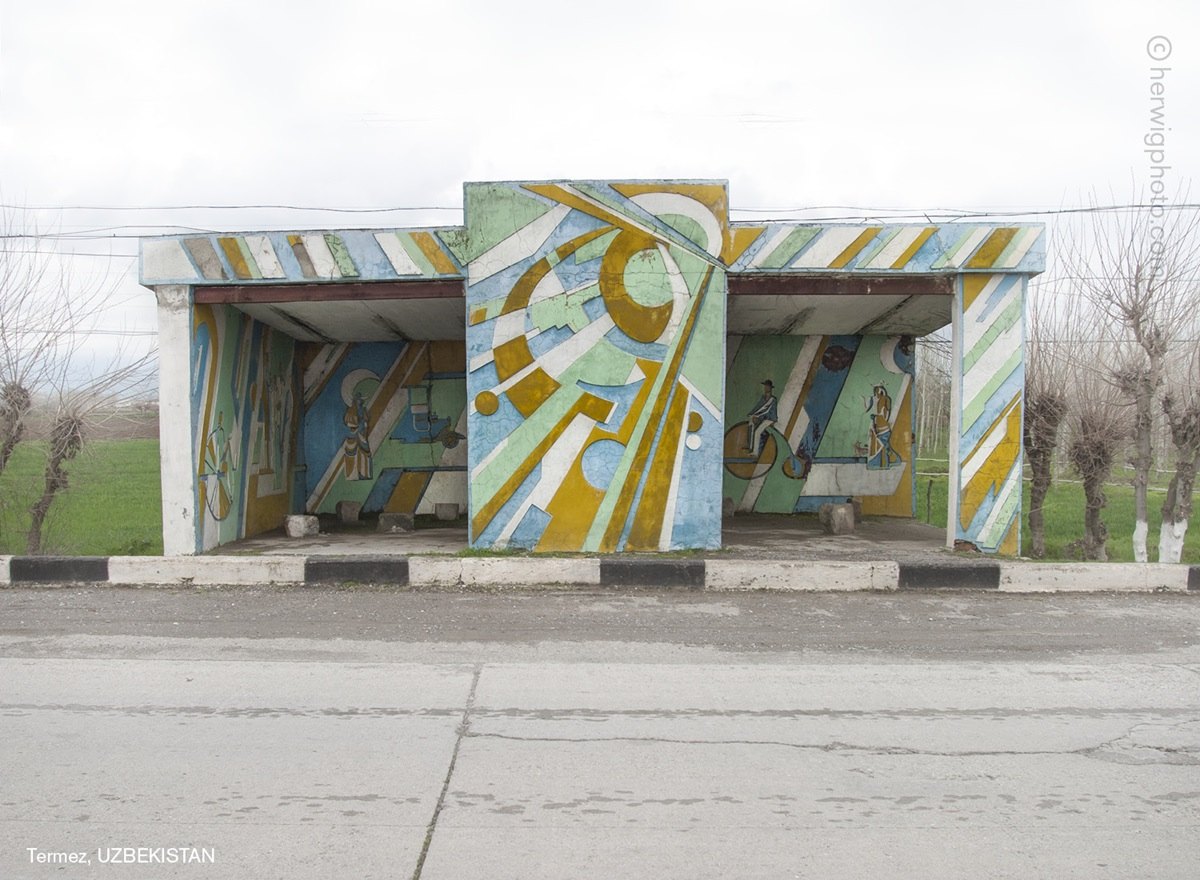 The USSR legacy: Photos of Soviet bus stops by Christopher Herwig - 08
