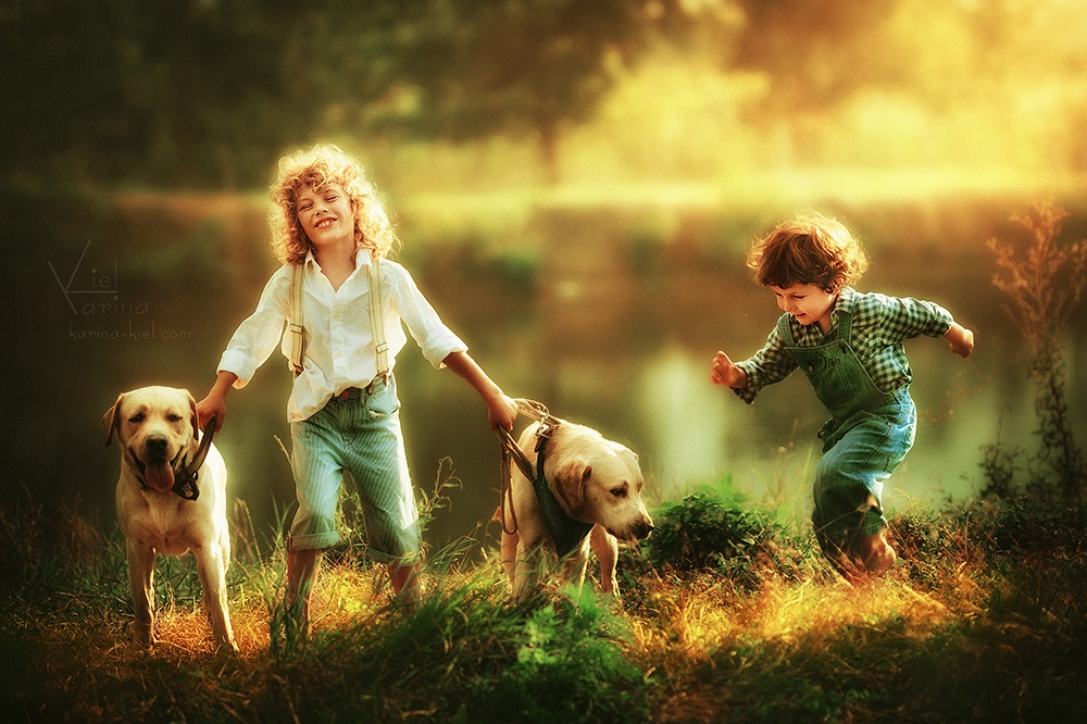 Children's wonderland: Magic photography of kids by Karina Kiel - 23