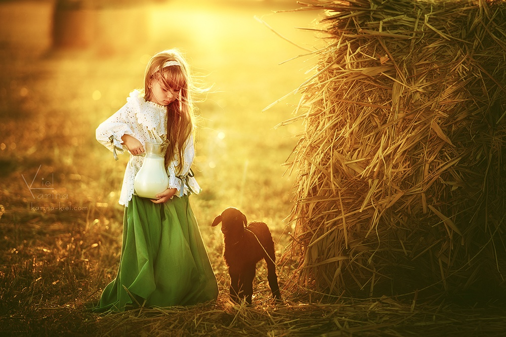 Children's wonderland: Magic photography of kids by Karina Kiel - 25