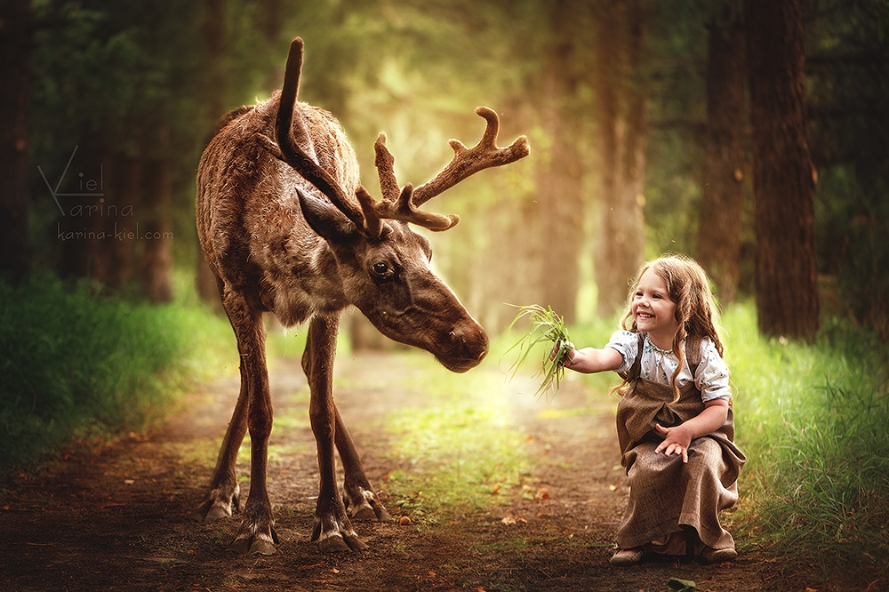 Children's wonderland: Magic photography of kids by Karina Kiel - 27