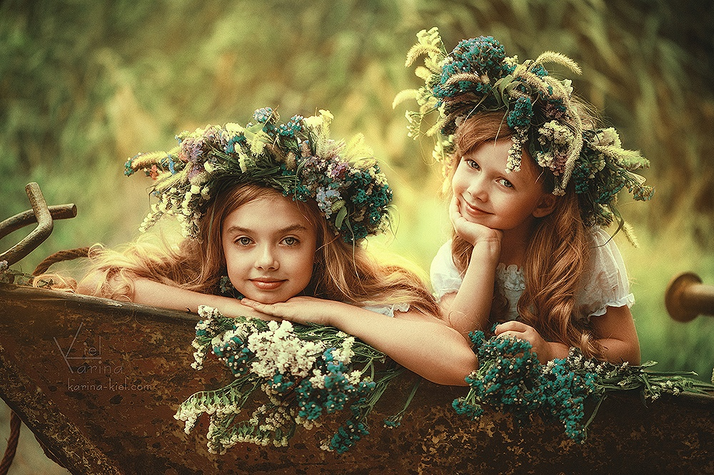 Children's wonderland: Magic photography of kids by Karina Kiel - 29
