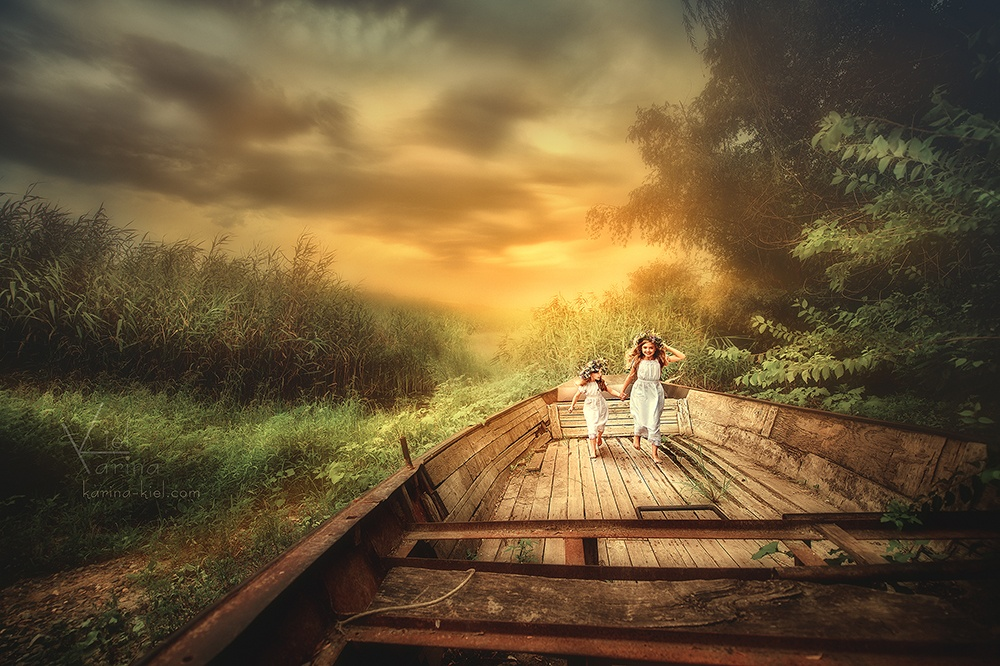 Children's wonderland: Magic photography of kids by Karina Kiel - 31